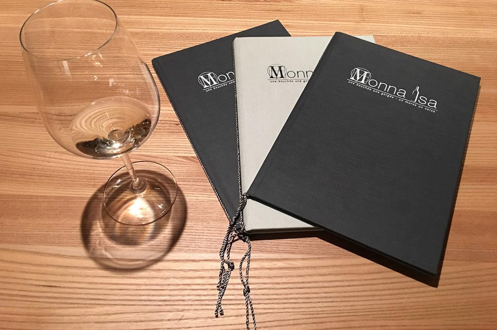 Monna Isa menu